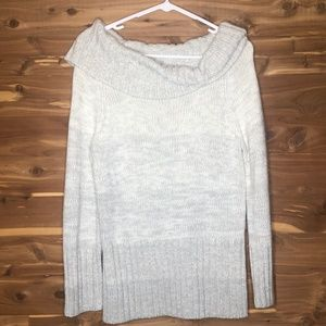 White House Black Market Cowl Neck Sweater M